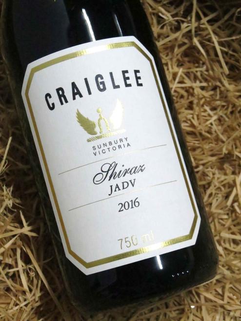 Craiglee Shiraz 'JADV' 2016