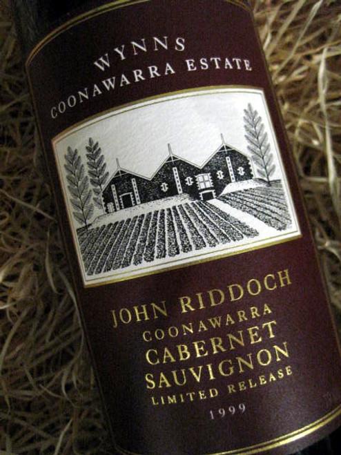 [SOLD-OUT] Wynns John Riddoch Cabernet Sauvignon 1999
