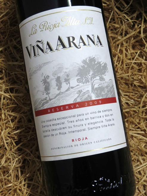 [SOLD-OUT] La Rioja Alta Vina Arana 2009