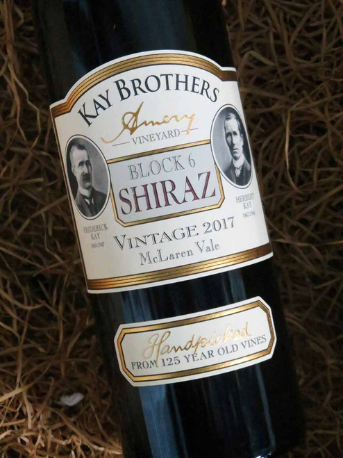 [SOLD-OUT] Kay Brothers 125th Block 6 Shiraz 2017