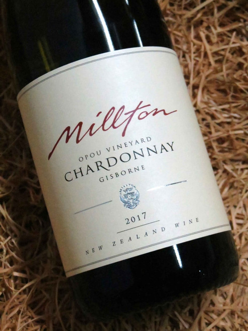 [SOLD-OUT] Millton Opou Chardonnay 2017
