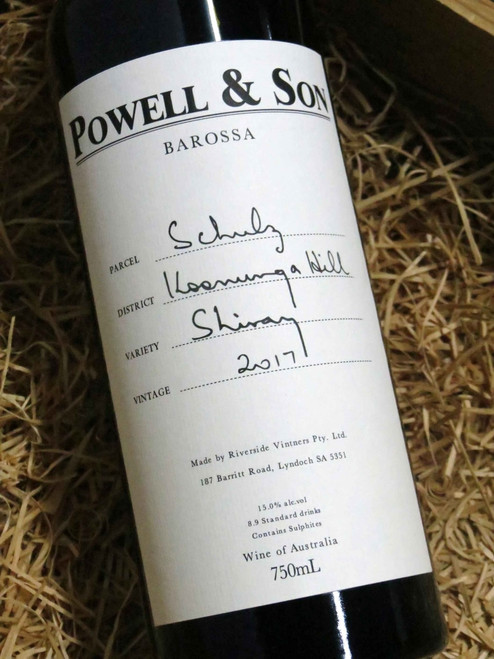 Powell & Son Schulz Shiraz 2017