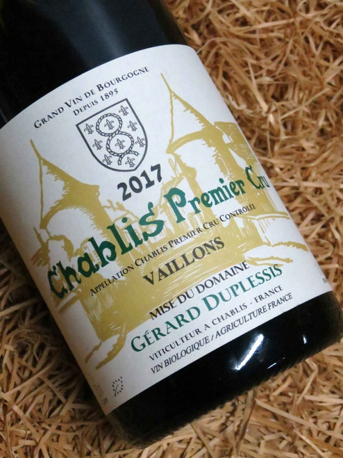 [SOLD-OUT] Dom Duplessis Premier Cru Chablis Vaillons 2017