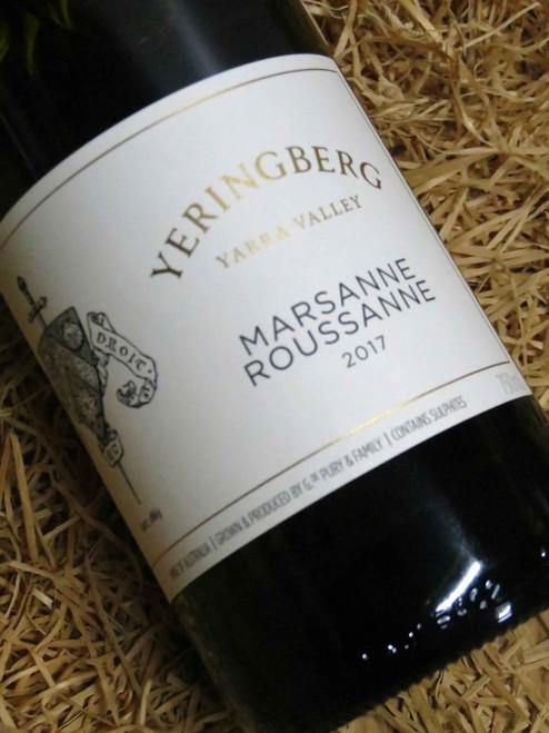 Yeringberg Marsanne Roussane 2017