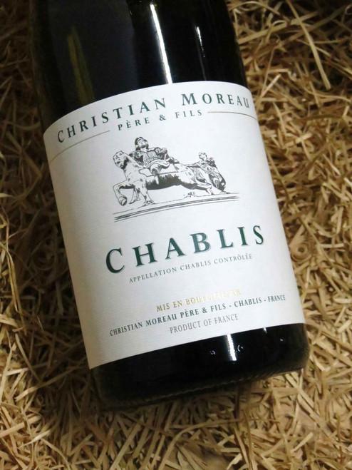 [SOLD-OUT] Christian Moreau Chablis 2018