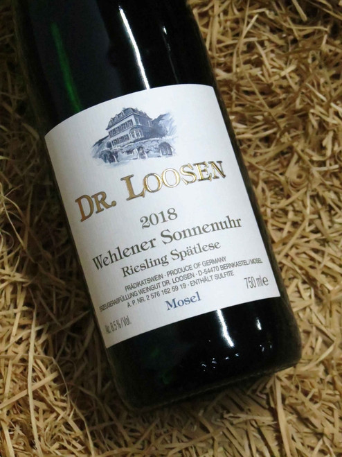 [SOLD-OUT] Dr Loosen Wehlener Sonnenuhr Riesling Spatlese 2018