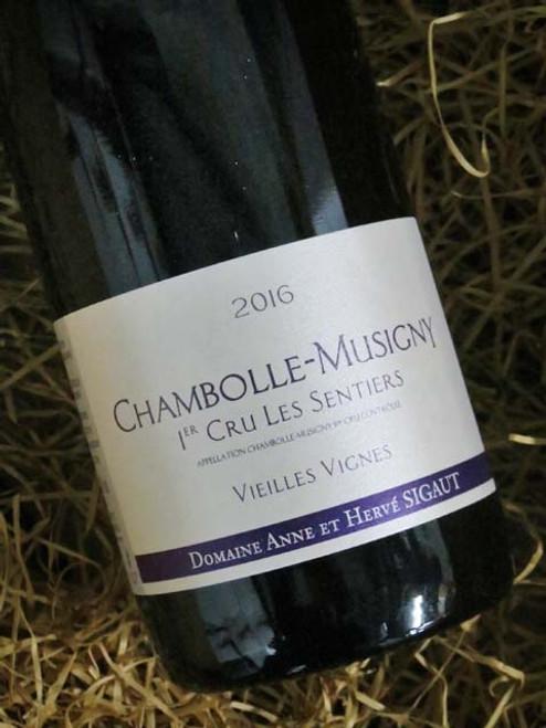 Domaine Anne et Herve Siguat Chambolle-Musigny Premier Cru Les Sentiers Vieilles Vignes 2016