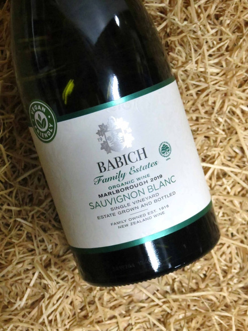 Babich Organic Single Vineyard Sauvignon Blanc 2019