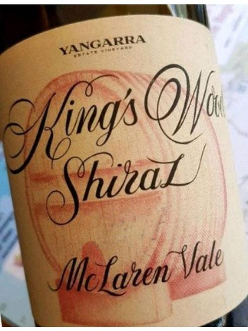 Yangarra Kings Wood Shiraz 2018