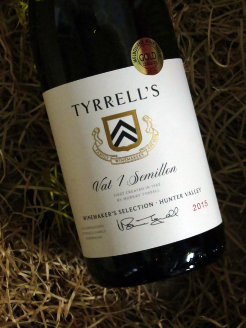 [SOLD-OUT] Tyrrell's Vat 1 Semillon 2015 Winemakers