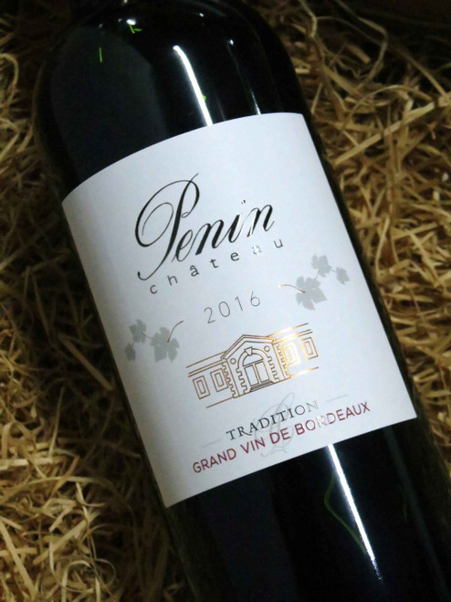 Chateau Penin Tradition Bordeaux Superieur 2016