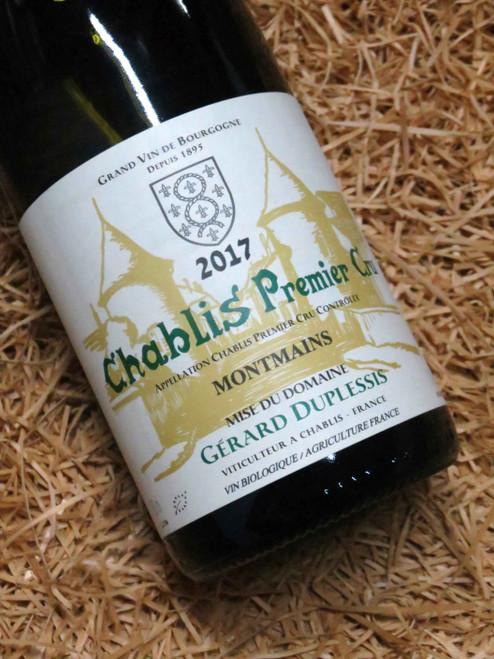 Dom Duplessis Premier Cru Chablis Montmains 2017