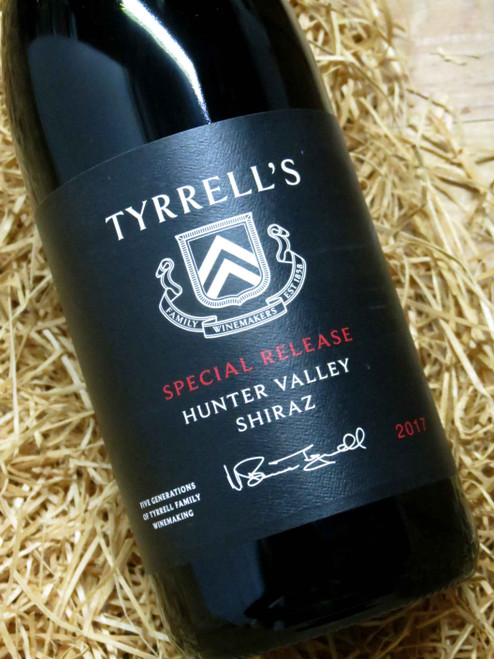 Tyrrell's Special Release Shiraz 2017