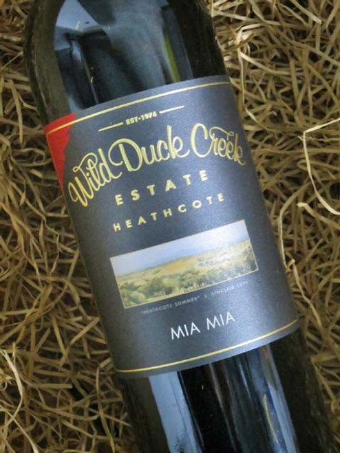 Wild Duck Creek Mia Mia Shiraz 2018
