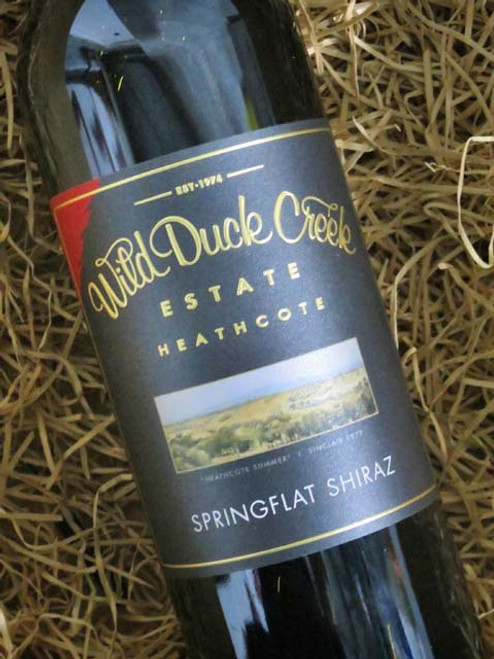 Wild Duck Creek Springflat Shiraz 2018