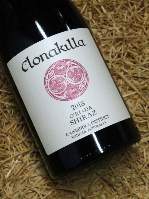 [SOLD-OUT] Clonakilla O'Riada Shiraz 2018