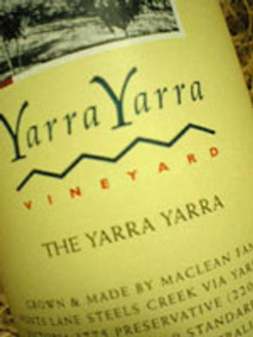 Yarra Yarra Syrah 2000