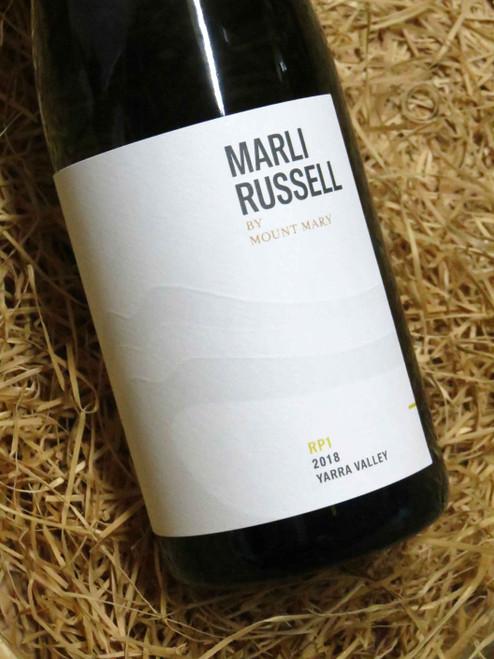 Mount Mary Marli Russell RP1 Marsanne Roussanne 2018