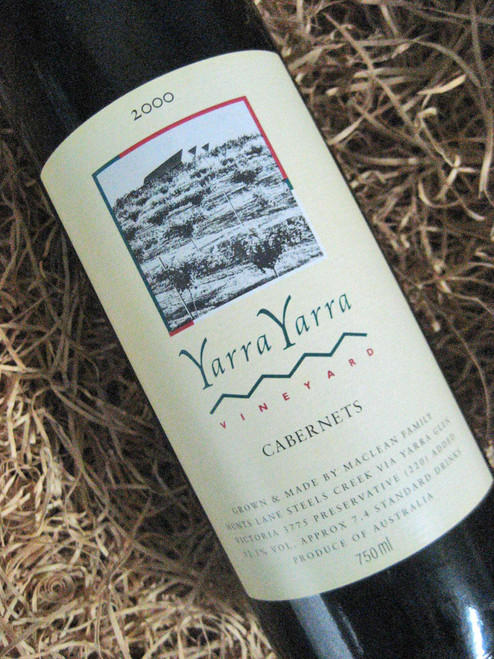 [SOLD-OUT] Yarra Yarra Cabernets 2000