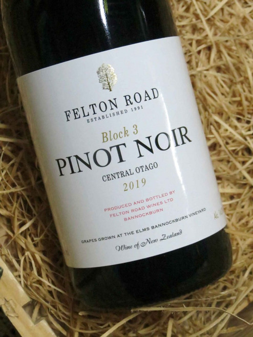 [SOLD-OUT] Felton Road Block 3 Pinot Noir 2019