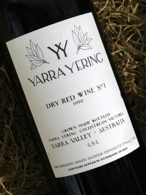 [SOLD-OUT] Yarra Yering Dry Red No 1 1999 1500mL-Magnum