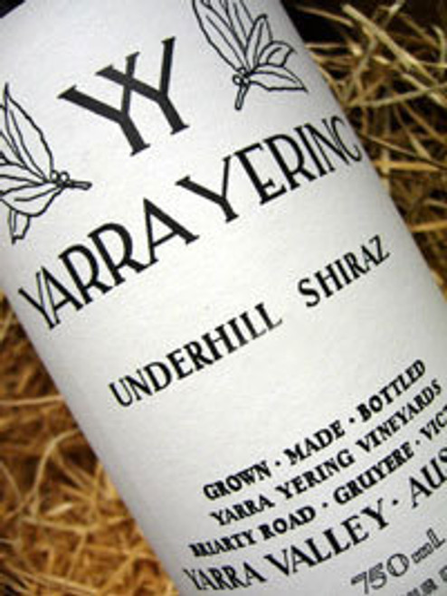 Yarra Yering Underhill Shiraz 1999