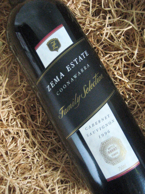 [SOLD-OUT] Zema Estate Family Selection Cabernet Sauvignon 1996