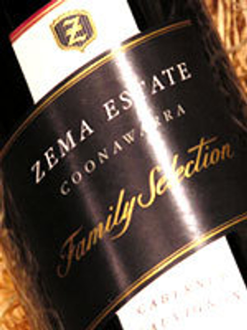 Zema Estate Family Selection Cabernet Sauvignon 2001
