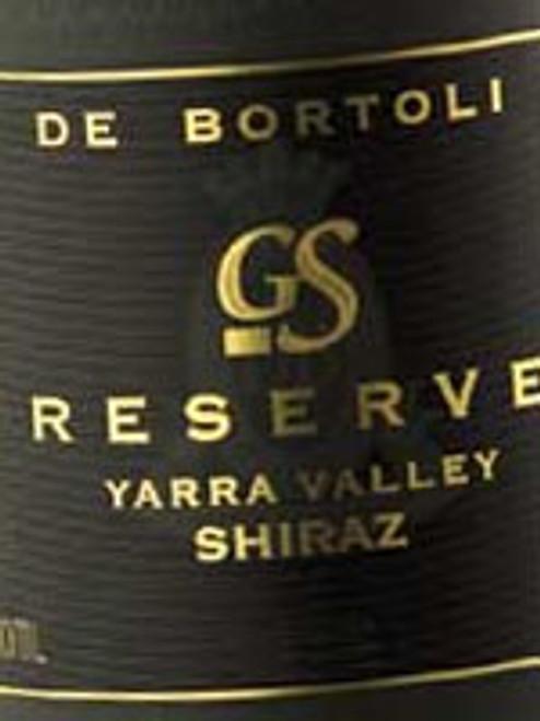 De Bortoli G S Reserve Shiraz 1998