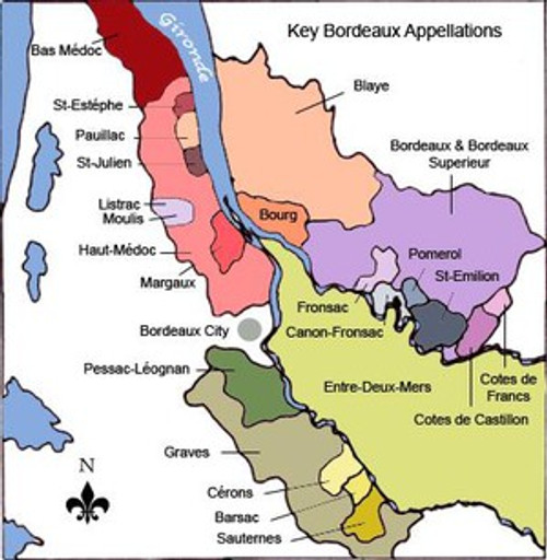 ONLINE Bordeaux Left Bank Discovery Masterclass
