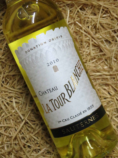 [SOLD-OUT] Chateau La Tour Blanche Sauternes 2010 375mL-Half-Bottle