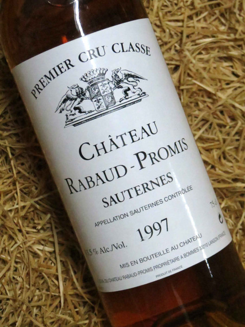 [SOLD-OUT] Chateau Rabaud-Promis Sauternes 1997