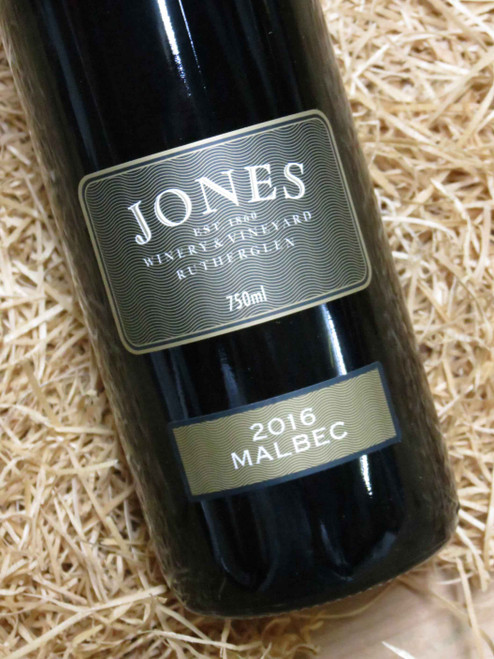 Jones Winery Malbec 2016