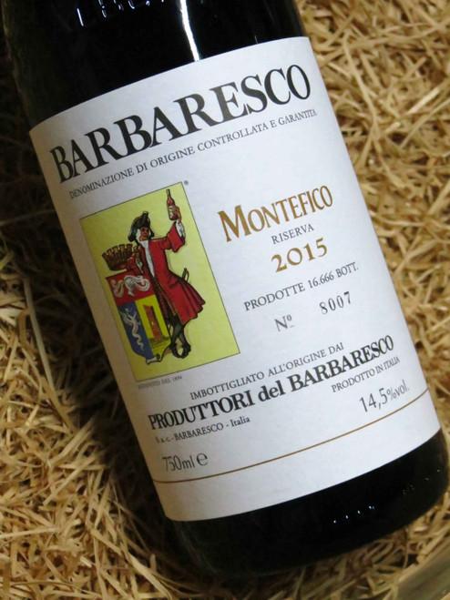 Produttori del Barbaresco Montefico Riserva 2015