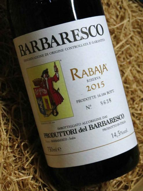 Produttori del Barbaresco Rabaja' Riserva 2015