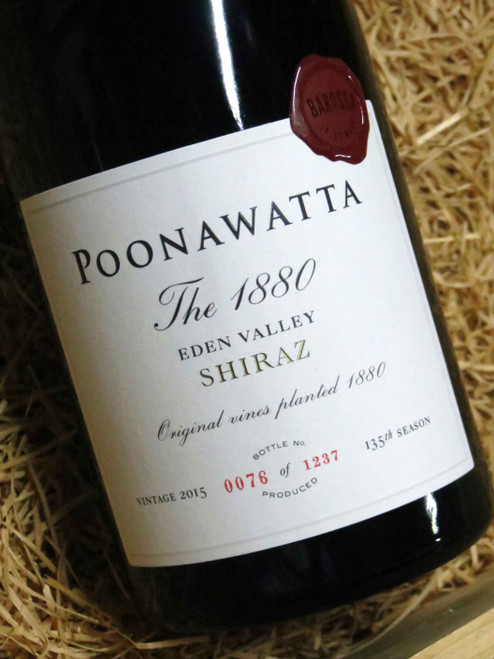 [SOLD-OUT] Poonawatta 1880 Shiraz 2015