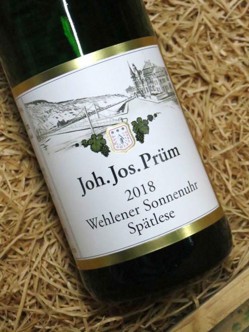 JJ Prum Wehlener Sonnenuhr Spatlese 2018