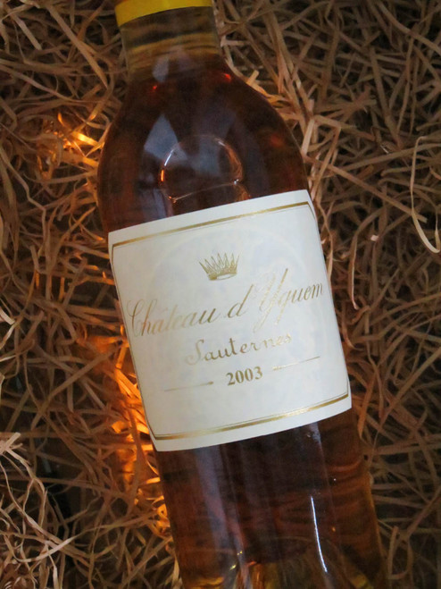 [SOLD-OUT] Chateau d`Yquem Sauternes 2003 375mL-Half-Bottle