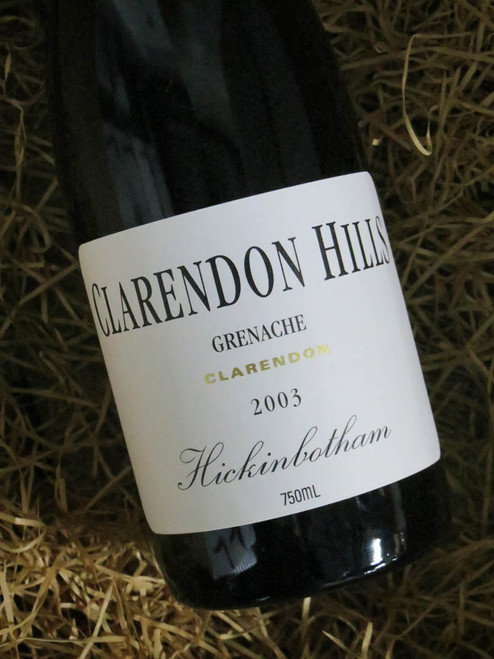 [SOLD-OUT] Clarendon Hills Hickinbotham Grenache 2003