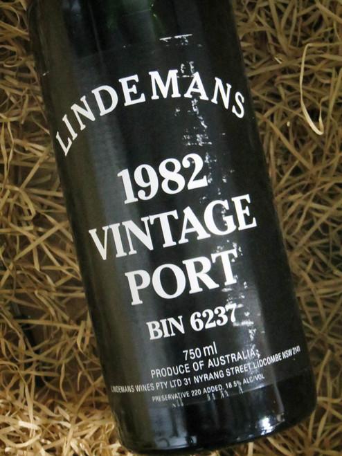 [SOLD-OUT] Lindemans Vintage Port 1982 Bin 6237