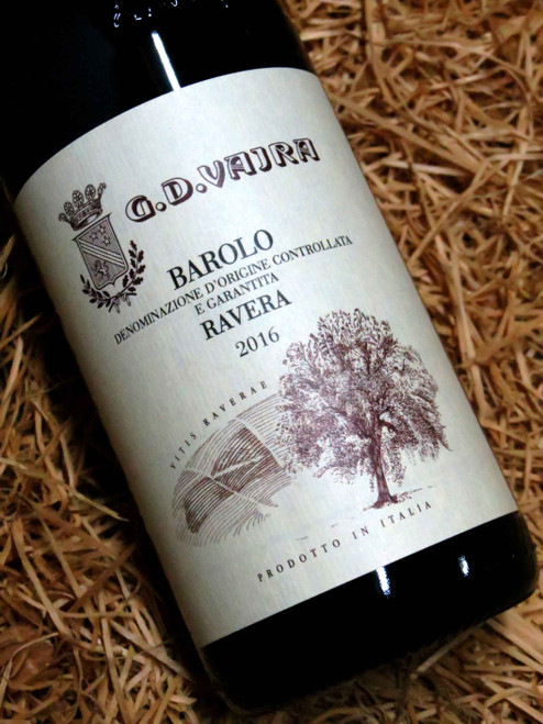 [SOLD-OUT] G.D. Vajra Barolo Ravera 2016 DOCG