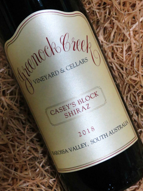 Greenock Creek Casey's Block Shiraz 2018
