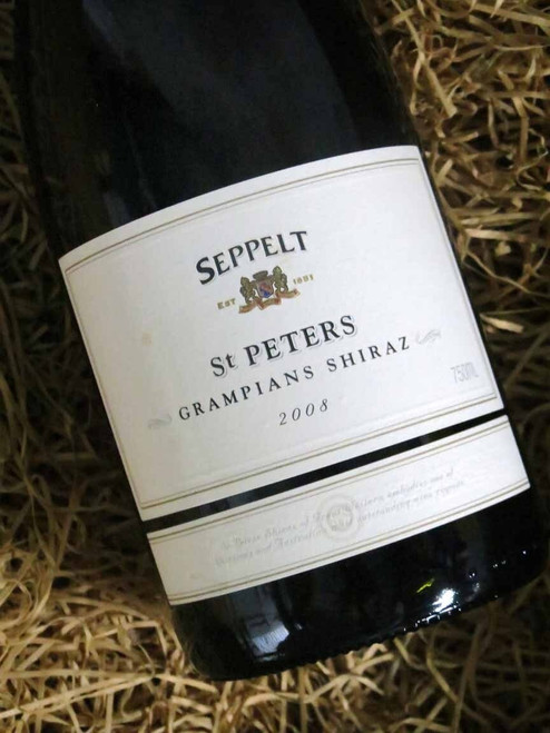 [SOLD-OUT] Seppelt St Peters Shiraz 2008