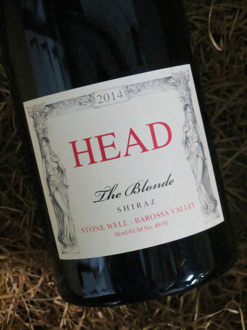 [SOLD-OUT] Head Wines The Blonde Shiraz 2014 1500mL-Magnum