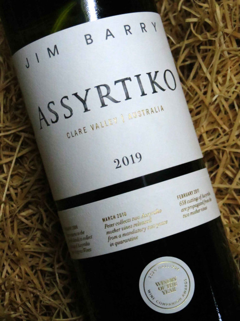 [SOLD-OUT] Jim Barry Assyrtiko 2019