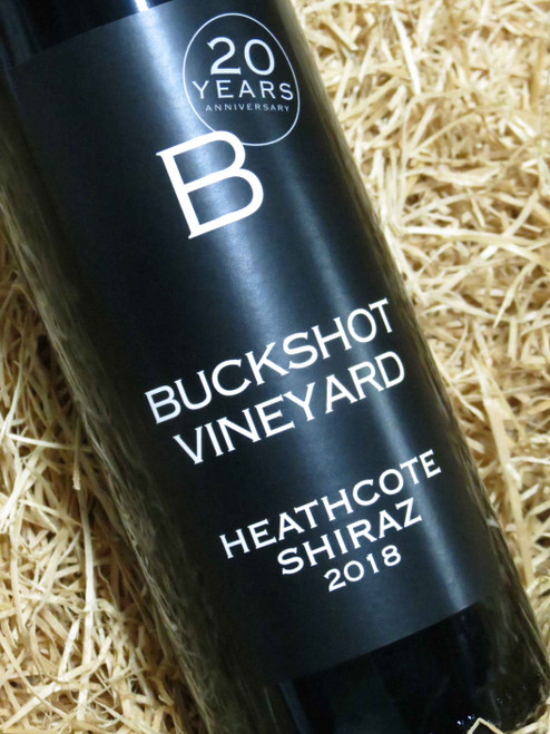 Buckshot Vineyard Heathcote Shiraz 2018