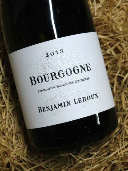 [SOLD-OUT] Benjamin Leroux Bourgogne Blanc 2018