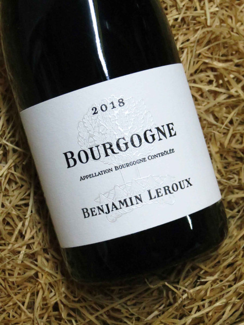 [SOLD-OUT] Benjamin Leroux Bourgogne Rouge 2018