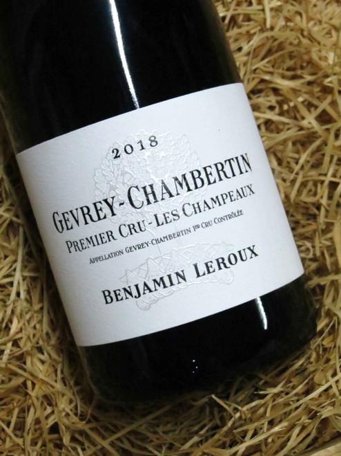 [SOLD-OUT] Benjamin Leroux Gevrey-Chambertin Premier Cru Les Champeaux 2018