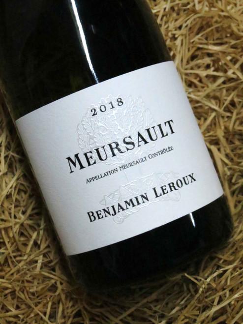 Benjamin Leroux Meursault 2018